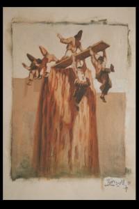 Equilibriste (Collection particulière) equilibriste-papier-5-200x300